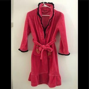 Kids Pink Soft Robe